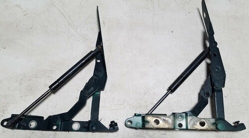 2002-2008 Jaguar X-Type X Type Trunk Hinge Set Assembly