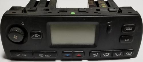 2002-2008 JAGUAR X TYPE X-Type AC HEATER CLIMATE CONTROL Black 1X4H-18C612-BK