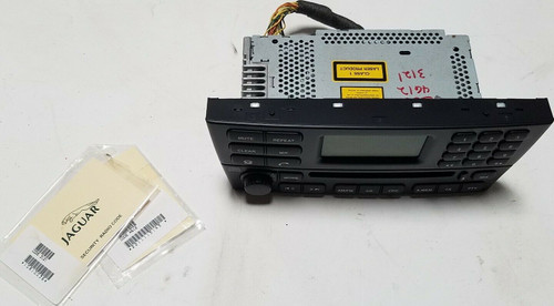 2002 JAGUAR X-TYPE OEM CD AM FM RADIO PLAYER Black 1X43-18B876-AA