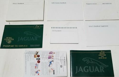 2002 Jaguar X-TYPE V6 2.5L 3.0L Owner Manuals Books Operator Handbooks Kit