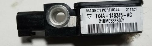 2002-2005 JAGUAR X TYPE X-Type CRASH IMPACT SENSOR 1X4A-14B345-AC