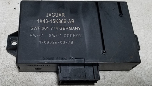 2002-2007 Jaguar X-Type Rear Parking Assist Module Unit 1X43-15K866-AB OEM