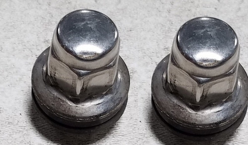 2002-2005 Jaguar X-Type X Type CHROME LUG NUT SET OF 2