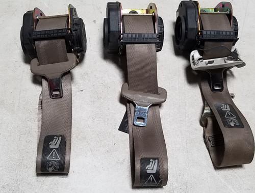 2003-2008 JAGUAR X TYPE X-Type Rear Seat Belt Set Sand