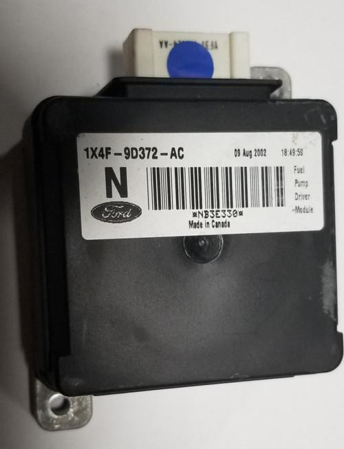 2002 to 2008 JAGUAR X-TYPE X Type FUEL PUMP MODULE CONTROL 1X4F-9D372-AC