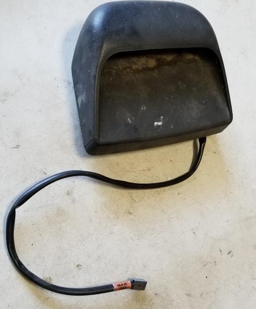 1986-1992 LINCOLN MARK VII Third Brake Light Assembly Black