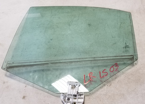 2000-2006 Lincoln LS LH Driver Side Rear Window Glass OEM