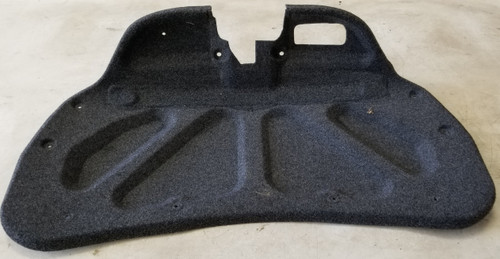 2002-2004 JAGUAR X TYPE X-Type Trunk Lid Finishing Carpet Panel