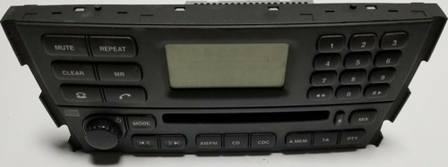 2003-2008 JAGUAR S-TYPE S Type  Radio Receiver CD Player Control Panel 2R83-18B876-AG