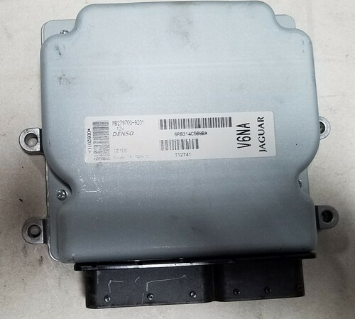 2006-2008 JAGUAR S TYPE 3.0L ENGINE COMPUTER ECU 6R83-14C568-BA 6R8314C568BA