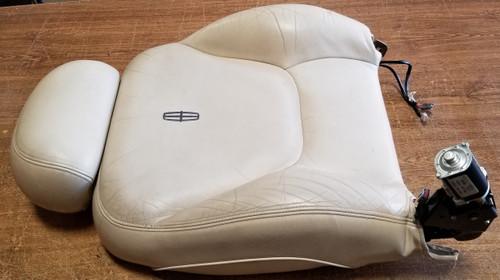 1997 1998 Lincoln Mark VIII RH Passenger Side Seat Back Ivory Grade B