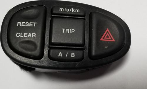 2000 2001 2002 Jaguar S-Type S Type HAZARD LIGHT TRIP RESET CONTROL SWITCH OEM