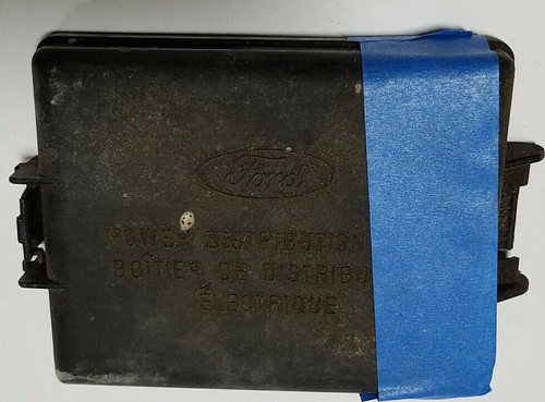 1998-2004 Mustang Engine Compartment Under Hood Fuse Box Cover F8ZB-14A003-C