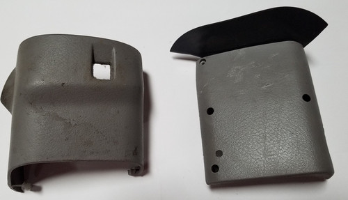 1994-1998 Ford MUSTANG Steering Column Cover Gray without key release switch