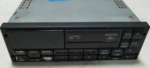 1994-1997 Ford Mustang Tape Cassette AM/FM Radio Mach 460 Premium F4ZF-19B165-BC