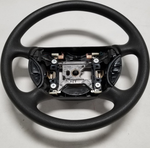 1999 to 2004 MUSTANG Steering Wheel Non Leather w/ Cruise Switches Gray