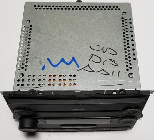 2006 07 08 2009 Fusion Milan 6 Disc CD Player Radio OEM 7E5T-18C815-AB