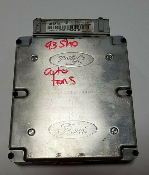 1993 Taurus SHO EEC-IV F3DF-12A650-JB H3Z1 Auto Transmission