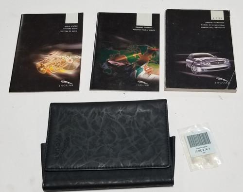 2005 Jaguar X-TYPE X Type V6 2.5L 3.0L Owner Manuals Books Operator Handbooks Kit