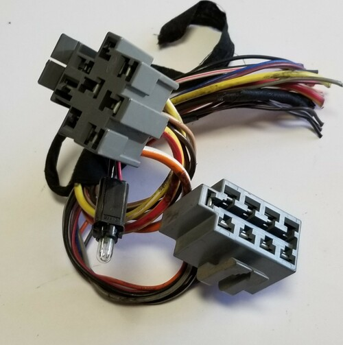 1993 1994 1995 1996 Lincoln Mark VIII Headlight and Dimmer Switch Harness Pigtail