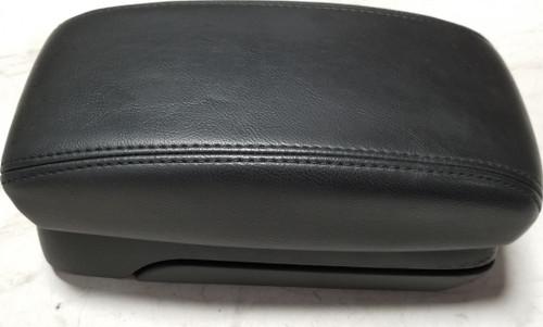 2002-2008 Jaguar X-Type Center Console Lid Armrest Sliding Armrest Black
