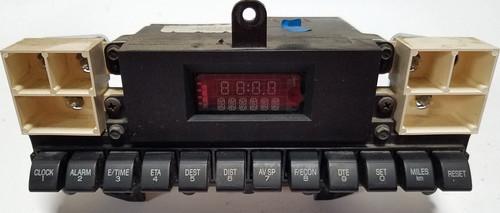 1990-1992 Lincoln Mark VII LSC Trip Info Dash Display Cluster Clock