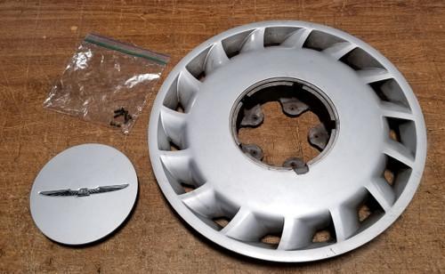 "1989-1997 Thunderbird LX 15"" Steel Wheel Hubcap Ford OEM E9SC-1000-AC 1"
