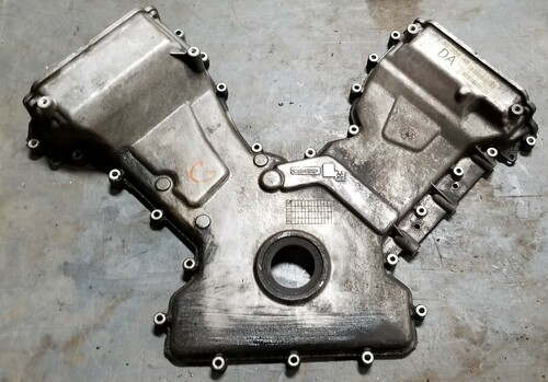 2003 2004 2005 2006 LINCOLN LS 3.9L V8 ENGINE TIMING CHAIN COVER