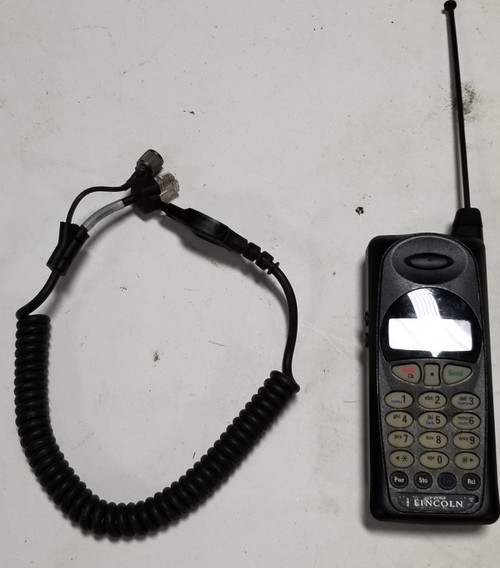 1998 1999 2000 2001 2002 Lincoln Continental Factory Cell Phone with Cable