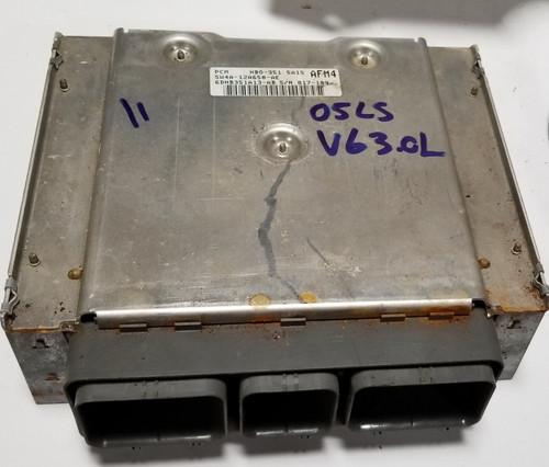 2005 LINCOLN LS 3.0L V6 ENGINE COMPUTER MODULE ECM ECU EEC 5W4A-12A650-AE