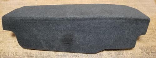 1998 to 2003 Jaguar XJ8 XJR Trunk Battery Tray Cover Carpet Cloth Black OEM