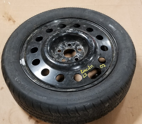 "2000 2001 2002 2003 2004 2005 2006 Lincoln LS 17"" Aluminum Spare Wheel T185/60 R17"