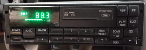 1993 1994 Ford F47F-19B165-AA OEM AM/FM Cassette Radio Premium Sound Explorer Ranger