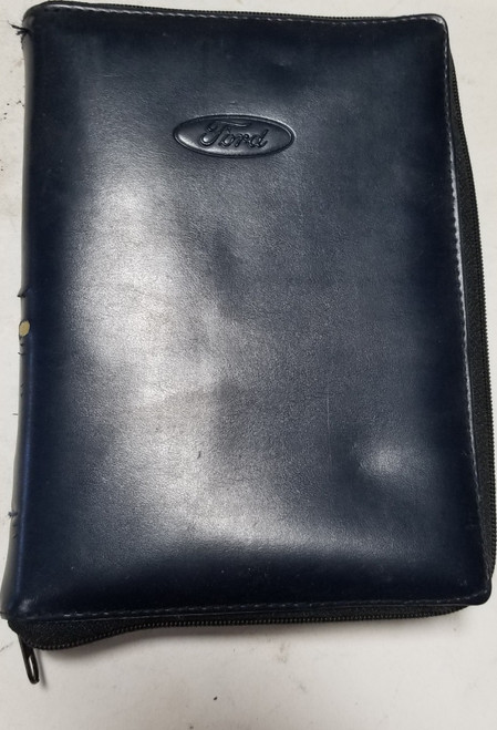 Ford Owner Manual Pouch Zipper Ranger Explorer Taurus Thunderbird FCS 12547P