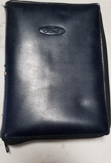 Ford Owner Manual Pouch Zipper Ranger Explorer Taurus Thunderbird FCS 12547P