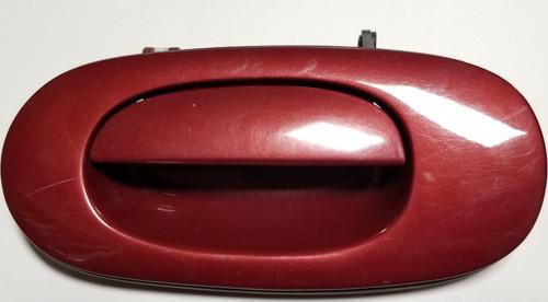 1998 to 2003 Jaguar XJ8 XJR Rear LH Exterior Door Handle Burgundy Red