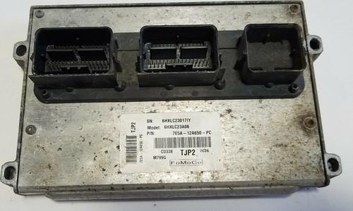 07 08 09 FORD FUSION 2.3L A/T ENGINE COMPUTER MODULE ECU ECM 7E5A-12A650-PC OEM