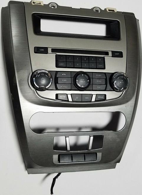 2010-2012 FORD FUSION RADIO FACE PANEL 9E5T-18A802-AE
