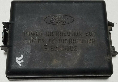 1998 to 2011 TOWN CAR Engine Bay Fuse Box Cover F8VB-14A003-C