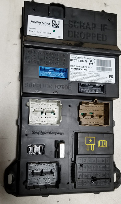 2008 MILAN Ford Fusion Multifunction Control Module Computer 8E5T-14B476-AD
