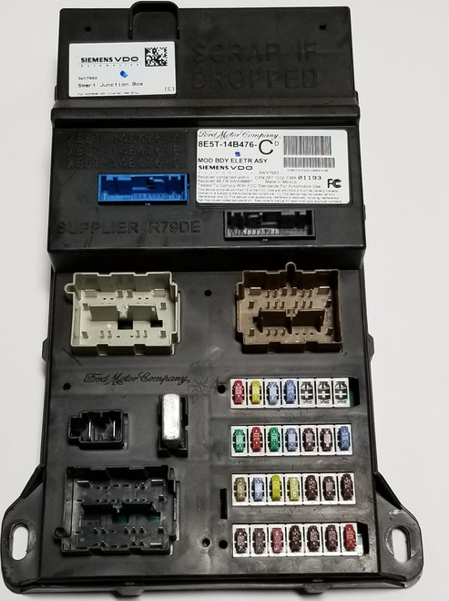 2008 MERCURY MILAN Ford Fus Multifunction Control Module Computer 8E5T-14B476-CD