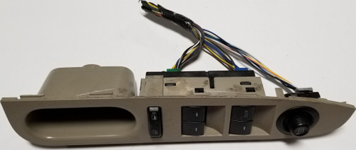 2008 2009 Ford Fusion Left Side Master Power Window Switch Tan OEM