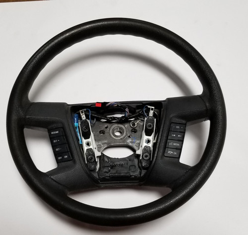 2007-2009 Ford Fusion Steering Wheel Black with Switches