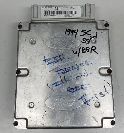 EEC-IV - 1994 - 1995 - Manual Trans - T4J1- with EGR - F4SF-12A650-GB - WWW.TBSCSHOP.COM