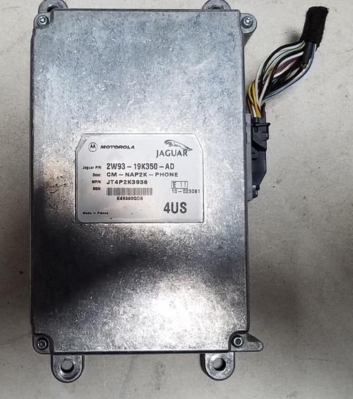 2005-2008 JAGUAR Communication Car Phone Module Left Hand Trunk 2W93-19K350-AD