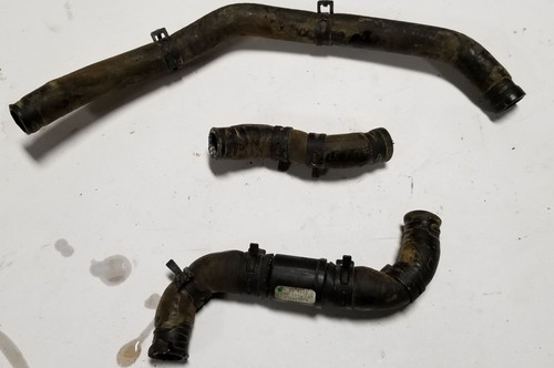 1998 99 00 01 02 2003 Jaguar XJ8 XJR VDP Heater Auxiliary Pipe Assembly