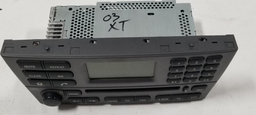 2002 2003 JAGUAR X-TYPE OEM CD AM FM RADIO PLAYER Gray 1X43-18B876-CA X Type