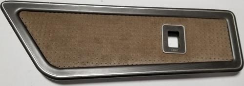 1984-1992 LINCOLN MARK VII LH Rear Tan Quarter Panel Light Switch Panel