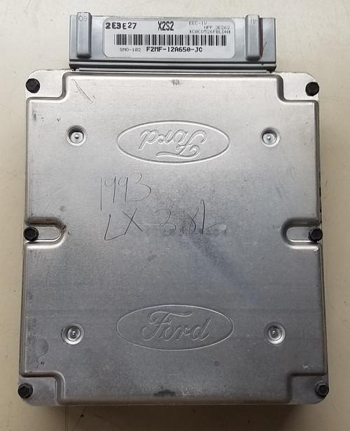 EEC-IV - 1993 - 3.8L LX - Auto Trans - X2S2 - with EGR - F2MF-12A650-JC - WWW.TBSCSHOP.COM