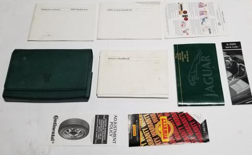 2003 Jaguar X-TYPE XType Owner Manuals Books Operator Handbooks Collection